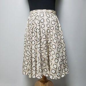 Club Monaco Vintage  Skirt Geometric Size 00